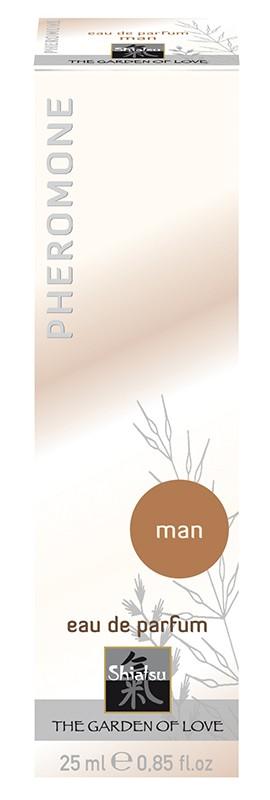"ДУХИ МУЖСКИЕ с феромонами ""SHIATSU MAN"" 25 ml арт. 66101"