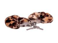 НАРУЧНИКИ МЕХОВЫЕ цвет леопард арт. E0014C20PGAC (ст. арт. H002C2F086A1)