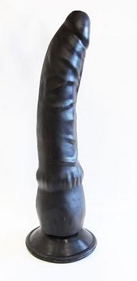 ФАЛЛОИМИТАТОР РЕАЛИСТИК В ЛАМИНАТЕ L 193 мм D 35 мм, цвет черный 400300