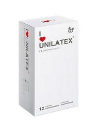 "ПРЕЗЕРВАТИВЫ UNILATEX ""ULTRA THIN"" ультратонкие, 12 шт., арт. 3015"