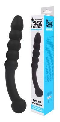 СТИМУЛЯТОР, L 225 мм D 31x36 мм, цвет чёрный арт. SEM-55096