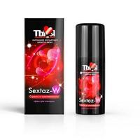 """КРЕМ """"Sextaz-W"""" серии """"Ты и Я"""" для женщин, флакон - диспенсер 20г арт. LB-70009"""