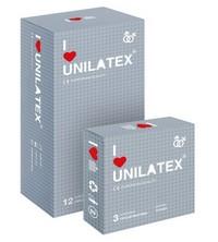 """ПРЕЗЕРВАТИВЫ UNILATEX """"DOTTED"""" с точечной поверхностью, 12 шт., арт. 3020"""
