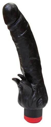 ВИБРАТОР РЕАЛИСТИК В ЛАМИНАТЕ L 185 мм D 39 мм цвет черный арт. 410200