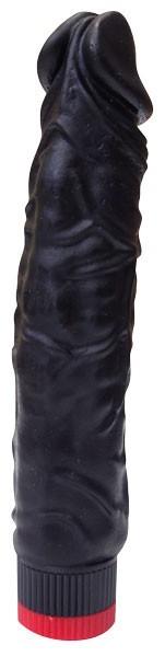ВИБРАТОР РЕАЛИСТИК В ЛАМИНАТЕ L 195 мм D 44 мм, цвет черный арт. 410500