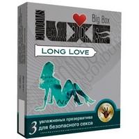 "ПРЕЗЕРВАТИВЫ ""LUXE"" LONG LOVE ПАНЕЛЬ 3 штуки"