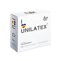 """ПРЕЗЕРВАТИВЫ UNILATEX """"MULTIFRUITS"""" цветные ароматизированные, 3 шт., арт. 3003"""