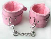 ОКОВЫ цвет розовый, (PVC, текстиль) арт. MLF-90060-6