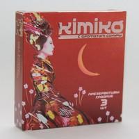 ПРЕЗЕРВАТИВЫ KIMIKO № 3 (с ароматом сакуры) 3 шт.