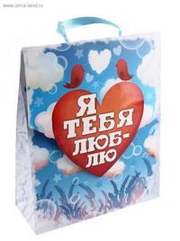ПАКЕТ ML Я ТЕБЯ ЛЮБЛЮ арт. 643185
