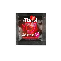 "КРЕМ ""Sextaz-W"" для женщин одноразовая упаковка 1,5г арт. LB-70021t"