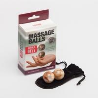 Шарики вагинальные из натурального камня Оникс, 2x35 гр