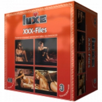 """ПРЕЗЕРВАТИВЫ """"LUXE"""" XXX FILES 3 штуки"""